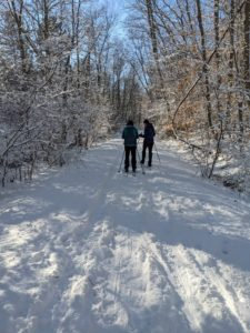 Cross Country Skiing Whitney Thayer Spur Trail